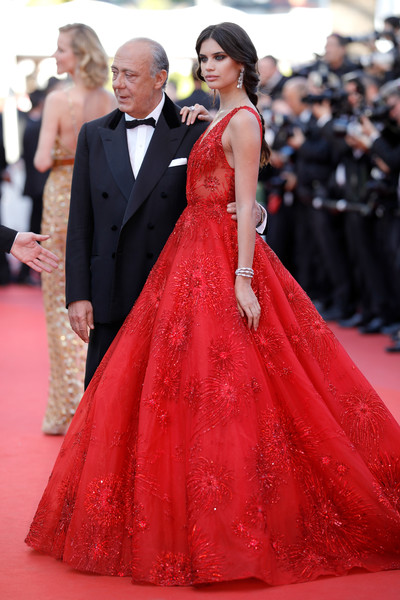 sara sampaio in zuhair murad the dreamiest dresses on