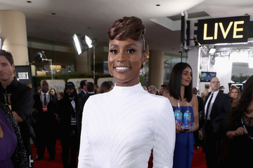 Issa Rae FIJI Water at the 74th Annual Golden Globe Awards
