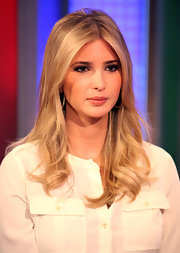 Ivanka Trump wore her layered locks in soft waves while visiting 'FOX & Friends.'