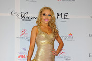 Iveta Lukosiute Bandage Dress
