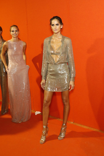 Izabel Goulart Sequin Dress