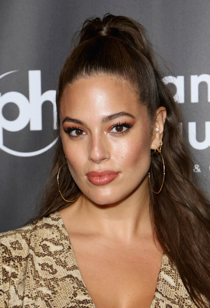 More Pics of Ashley Graham Ponytail (4 of 7) - Ashley Graham Lookbook - StyleBistro