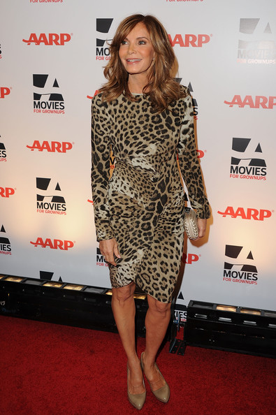 Jaclyn Smith Quilted Clutch [clothing,red carpet,carpet,dress,premiere,fashion,cocktail dress,footwear,fashion model,flooring,arrivals,jaclyn smith,beverly hills,california,beverly wilshire four seasons hotel,aarp magazine,gala,10th annual movies for grownups awards,10th annual movies for grownups awards]