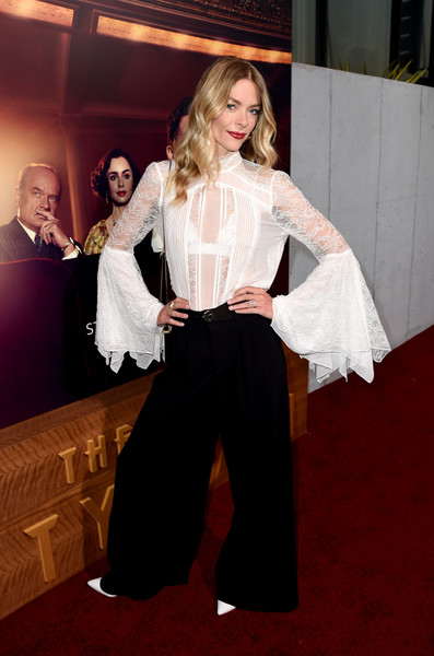 Jaime King Wide Leg Pants