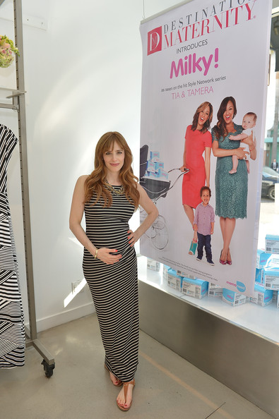 Jaime Ray Newman Maternity Dress