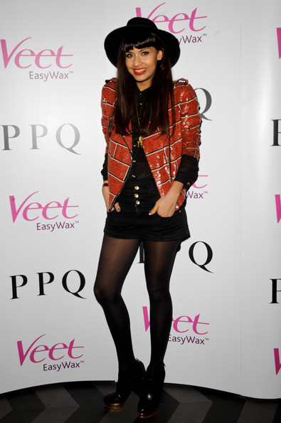 Jameela Jamil Sequined Jacket