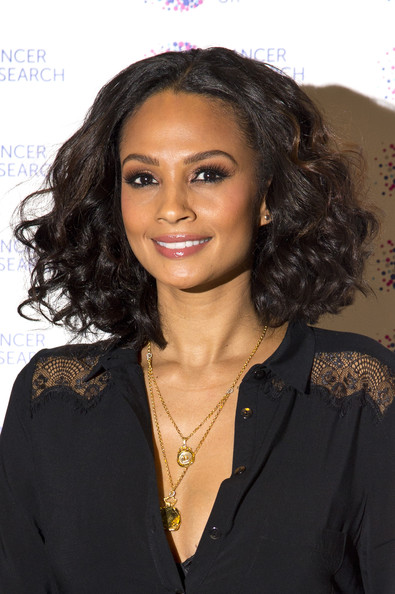 More Pics of Alesha Dixon Curled Out Bob (1 of 5) - Curled Out Bob Lookbook - StyleBistro