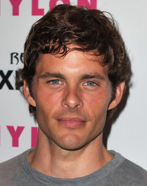 James Marsden Short Curls [hair,face,hairstyle,forehead,chin,eyebrow,head,nose,cheek,neck,arrivals,james marsden,nylon,express,west hollywood,california,the london hotel,party,denim issue party]