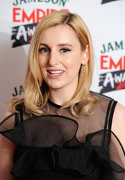 Laura Carmichael wore her hair with wavy ends for a sweet look during the Jameson Empire Awards.
