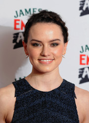 Daisy Ridley attended the Jameson Empire Awards wearing a cute crown braid.