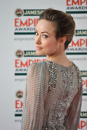 Olivia Wilde attended the 2012 Jameson Empire Awards wearing her hair in a classic French twist.