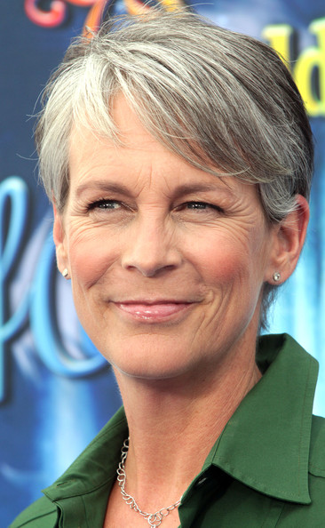 Jamie Lee Curtis Short Side Part [world of color,world of color,hair,face,hairstyle,blond,chin,eyebrow,forehead,nose,surfer hair,wrinkle,jamie lee curtis,disney california adventure park,california,anaheim,premiere,premiere]