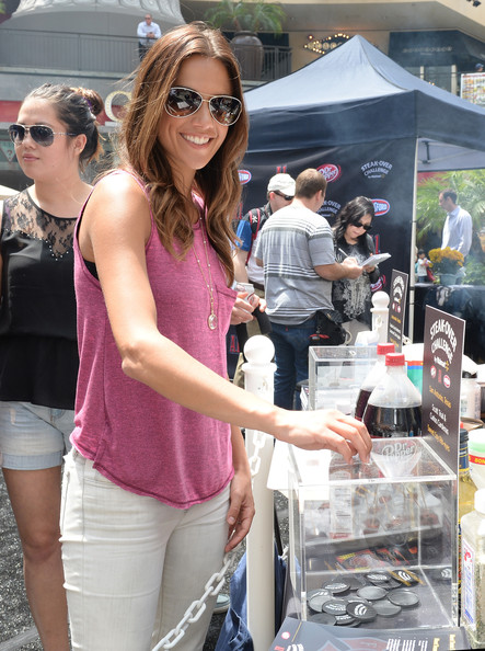Jana Kramer Aviator Sunglasses