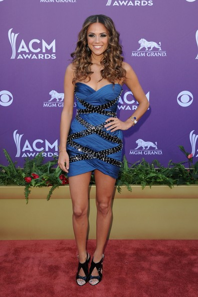 Jana Kramer Strapless Dress