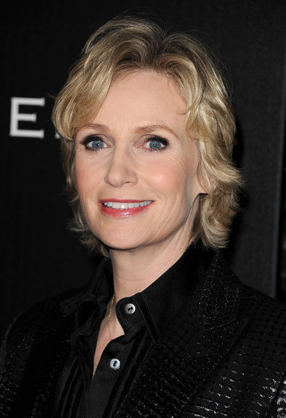 Jane Lynch Short Curls