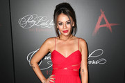 Janel Parrish Fishtail Dress