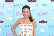 Janel Parrish Print Dress