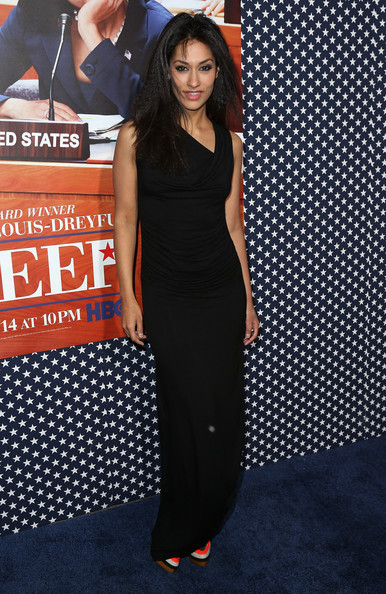 Janina Gavankar Evening Dress