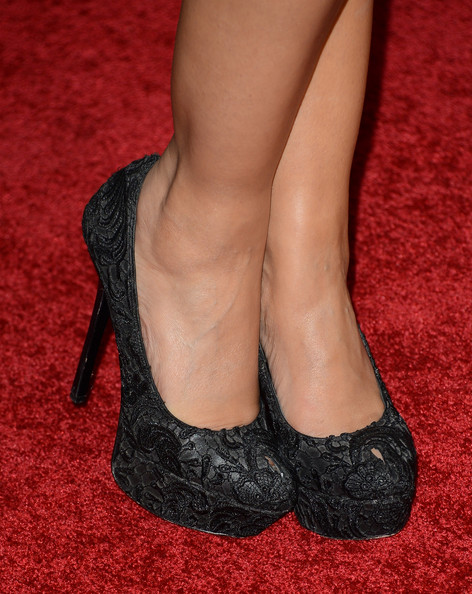 Janina Gavankar Shoes