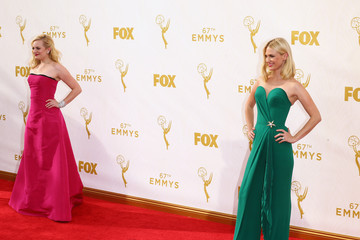 January Jones Elisabeth Moss 67th Annual Primetime Emmy Awards - Arrivals