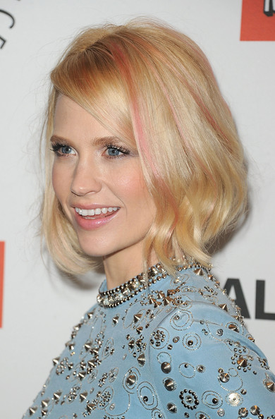 january jones hair stylebistro more pics of january jones mid length bob 8 of 32