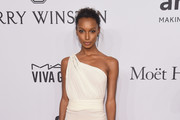 Jasmine Tookes One Shoulder Dress