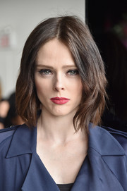 Coco Rocha wore her hair in a chic layered bob at the Jason Wu fashion show.