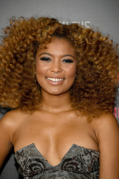Jaz Sinclair Medium Curls