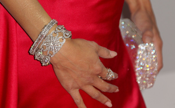 Jeannie Mai Diamond Bracelet [bracelet,wrist,nail,jewellery,fashion accessory,bangle,finger,hand,body jewelry,ring,jeannie mai,hotel,beverly hills,california,the beverly hilton,nbc universal,golden globe awards,arrivals,party]