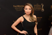 Jeannie Mai One Shoulder Dress