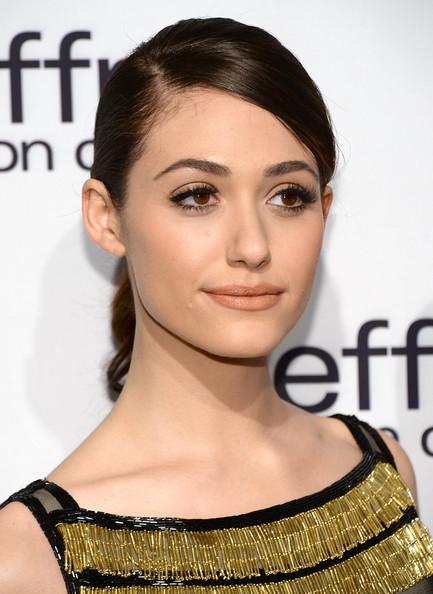 More Pics of Emmy Rossum Ponytail (1 of 13) - Emmy Rossum Lookbook - StyleBistro