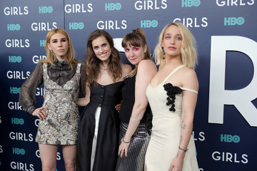 Jemima Kirke Zosia Mamet The New York Premiere of the Sixth and Final Season of 'Girls' - Red Carpet