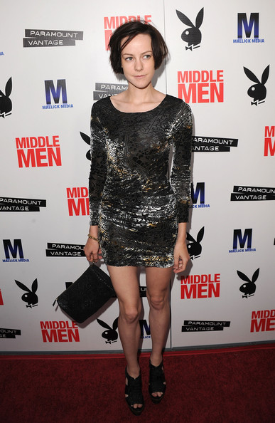 Jena Malone Leather Clutch