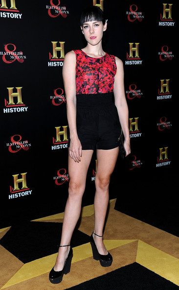 Jena Malone High-Waisted Shorts