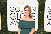 Jenna Bush Hager Off-the-Shoulder Dress