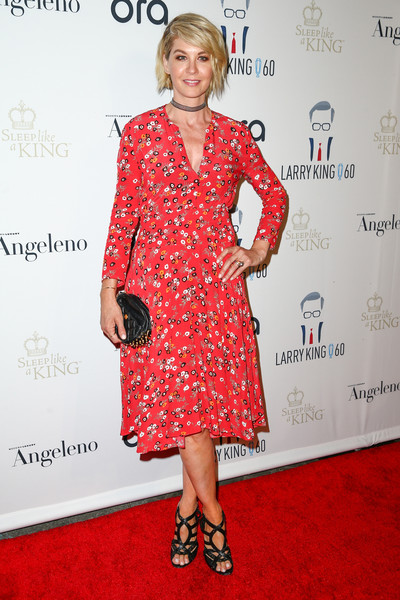 Jenna Elfman Print Dress