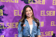 Jenna Ushkowitz Mini Skirt
