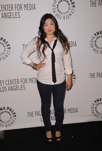 Jenna Ushkowitz Button Down Shirt