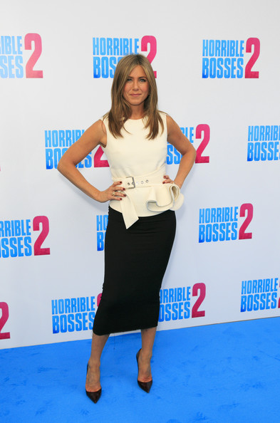 Jennifer Aniston Ruffle Blouse
