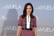 Jennifer Connelly Print Dress