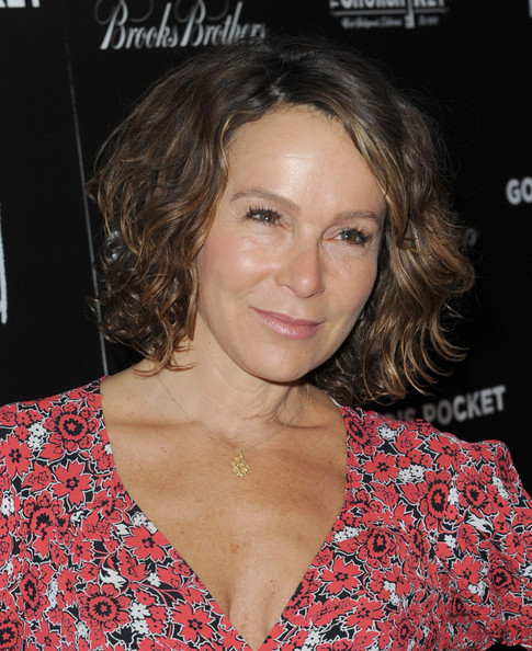 Jennifer Grey Curled Out Bob [gods pocket,hair,face,hairstyle,eyebrow,chin,blond,premiere,brown hair,long hair,layered hair,red carpet,jennifer grey,california,los angeles,lacma,ifc films,premiere,premiere]