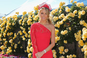 Jennifer Hawkins One Shoulder Dress
