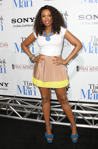 Jennifer Hudson Mini Skirt