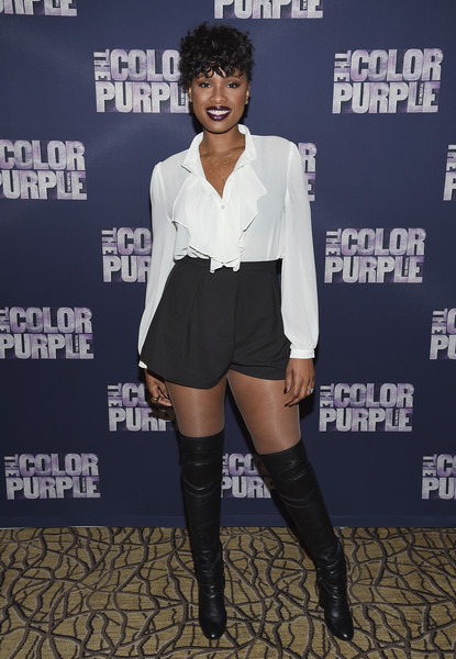Jennifer Hudson High-Waisted Shorts
