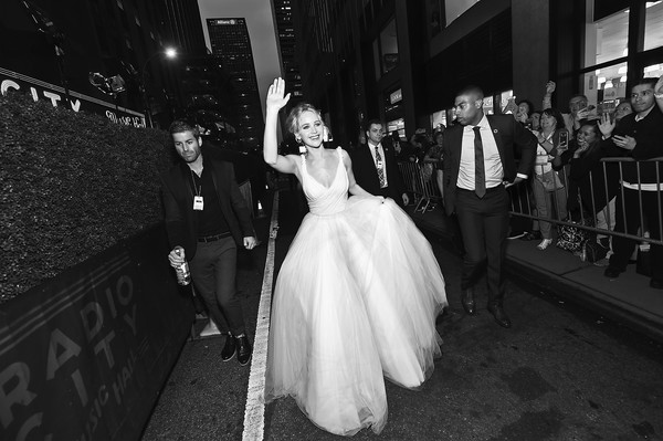 Jennifer Lawrence Princess Gown