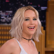 Jennifer Lawrence's Short Wavy Cut
