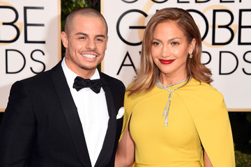 Jennifer Lopez Casper Smart 73rd Annual Golden Globe Awards - Arrivals