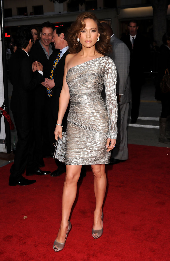 Jennifer Lopez One Shoulder Dress Jennifer Lopez Clothes