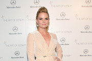 Jennifer Morrison Metallic Clutch