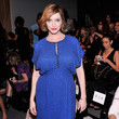 Christina Hendricks at Jenny Packham